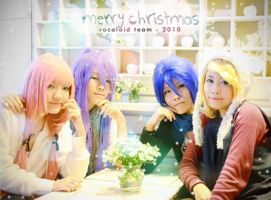 Vocaloid Christmas by nyaomeimei