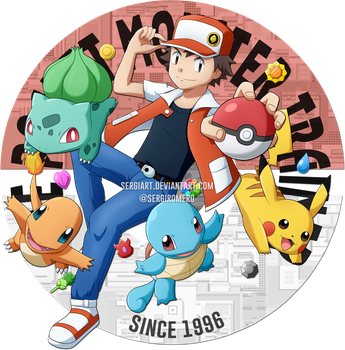 Pokemon - 20th Anniversary by SergiART