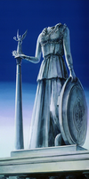 Reconstitution Athena Statue by Huramechi
