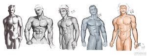 Male Studies 001 by UNtethered-Studios