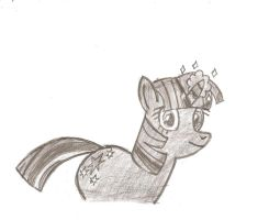 Sketch time Twilight Sparkle by HyperForceGo