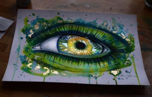 Eye of the dragon (on sale) by PixieCold