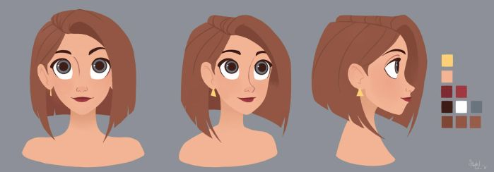 Jane_Model Sheet by Lumi-Sketches