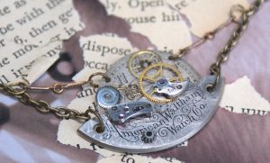 steam punk necklace by Archaic76