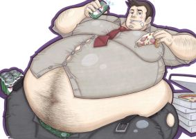 extra gumshoe for syrusman by prisonsuit-rabbitman