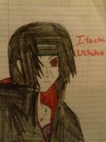 Art trade: Itachi Uchiha! by KanadeAkatsuki
