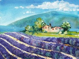 Sunny day in Provence by Sandra-777
