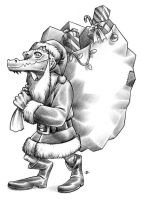 Christmas Kobold by D-MAC