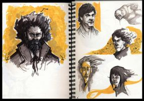 SKETCHBOOK IN YELLOW by nachoyague