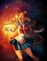 Sailor Moon by SuperKaninja