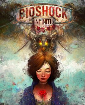 Bioshock Infinite Alternate Cover by theLazyLion