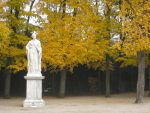Statue and Trees by simfonic