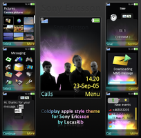 Coldplay apple style for sony by LucasRib
