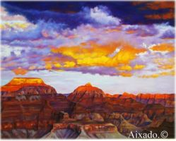 colorado canyon by aixado