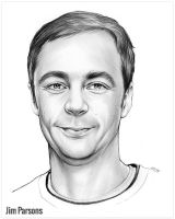 Jim Parsons by gregchapin