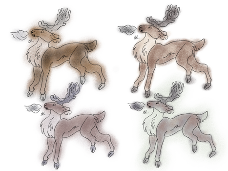 Caribou by flamewing9853