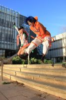 'I tear wings to pieces' Air Gear Cosplay by DatAsianChick