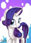 Rarity Portrait 2 by mysticalpha