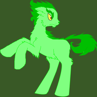 The Grinch as a pony by Ponyness1
