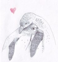 Penguin love by bec1989