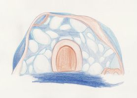 Namine's drawings: Secret Cave by Medi-EXE