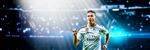 James Rodriques twitter header by F-EDITS