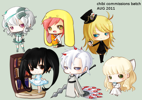 tinierme: commission batch II by mochimaruvii