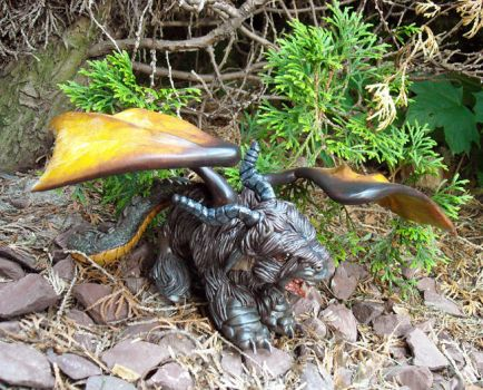 Jersey Devil custom detail by Bee-chan