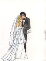 """I do."" Roy and Riza Mustang by CyberneticDenim"