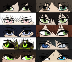 I've Come To Depend On That Look In Their Eyes by TheseWeirdFishes
