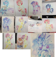 Bronycon Sketches by pekou