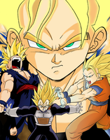 Dragonball Group 2 by Mastens