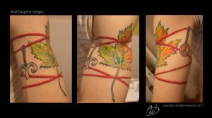 Maple Leaf Tattoo Photos by Wolf-Daughter