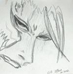 Quick pencil Grimmjow by JunichiBlue