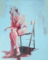 Seated Nude 7. by NakedArt2