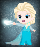 Chibi Elsa by Cclaire110