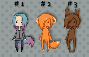 Cute chibi adoptables XXI taken by Sakiro-sama