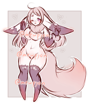 ADOPTS: Pink Fluffball [CLOSED] by Mewpyonadopts