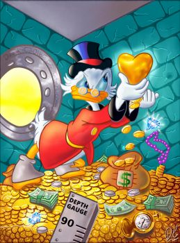 Scrooge McDuck: Tougher Than The Toughies by David-c2011