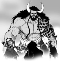 Kaido of the Beasts by tomastocornal
