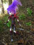 Undead Rogue Harlequin - Monster High Custom by mrinx