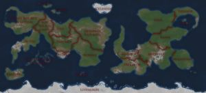 WFAP World Map - Labeled by AdmiralSerenity