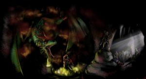 Beowulf and the dragon, Wiglaf's speech by SanguineSoupKitchen