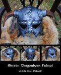 Skyrim: Dragonborn Iron Helmet by Epic-Leather