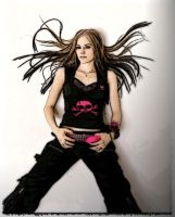 Avril Lavigne by goodasgone