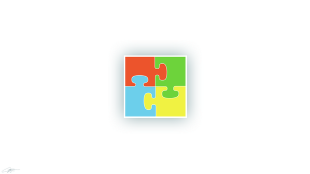 Windows puzzle by Rossally
