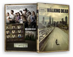 Walking Dead DVD Cover Season1 by morfeuss