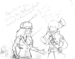 OLD TF2 SKETCHES by thatoneginger