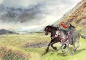 Brothers in Beleriand by daLomacchi