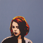 Papercut Black Widow by tripperfunster